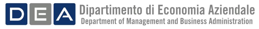 DEA - Dipartimento Economia Aziendale